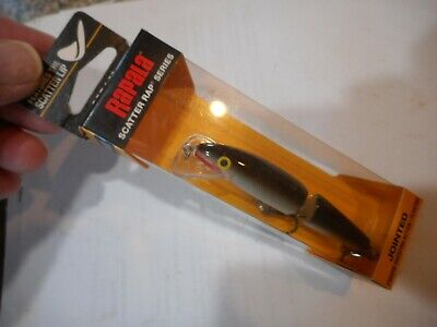 Rapfen 7g Wobbler Hot Steel für Hecht Rapala Scatter Rap Jointed 9cm Zander