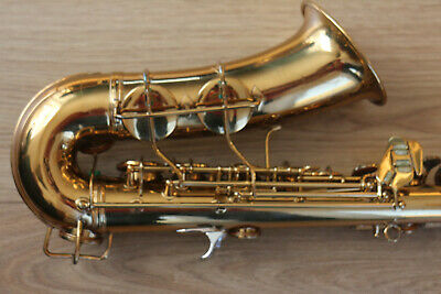 Conn transitional alto sax saxophone between Chu Berry and Ladyface 6M tranny
