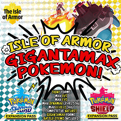 Pokemon Sword and Shield ⚔️ CHOOSE 'ANY 5' SHINY GIGANTAMAX POKEMON! - 6IV! 🛡️