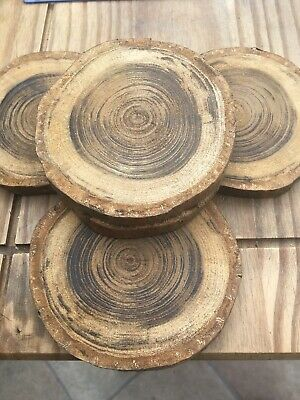 Yew Real Wood Coasters