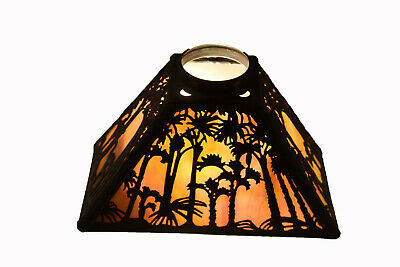 Handel Sunset Palm Overlay Lamp Shade