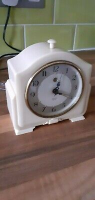 Smiths Sectric Art Deco Style  Small Bakelite Wall Clock.ideal Display/Spares.