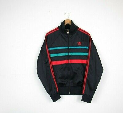 VINTAGE 70S80S ADIDAS Jacket Made In England Mens Black