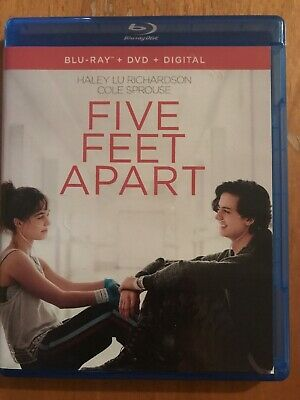 five feet apart blu ray Only
