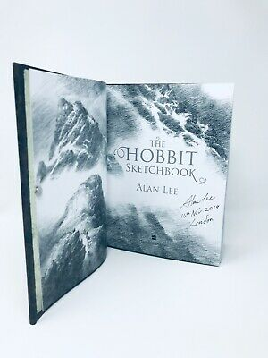 THE HOBBIT SKETCHBOOK SIGNED Publication dated Located - ALAN LEE UK 1st/1st HB