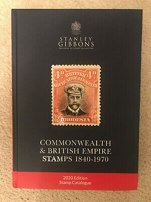 2020 Stanley Gibbons Commonwealth and British Empire Stamps Cat SECONDS Ref D