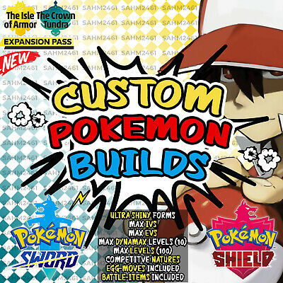 Pokemon Sword and Shield ⚔️ 6 CUSTOM POKEMON With Your TRAINER NAME And ID!! 🛡️