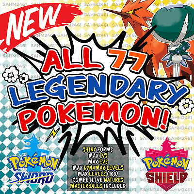 Pokemon Sword and Shield ⚔️ ALL 22 LEGENDARY POKEMON! - NEW HOME ADDITIONS! 🛡️