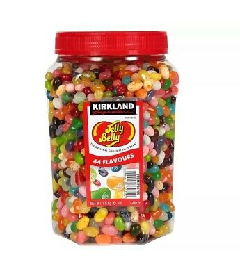 Jelly Belly Gourmet Jelly Beans 1.8kg Jar 44 Flavours