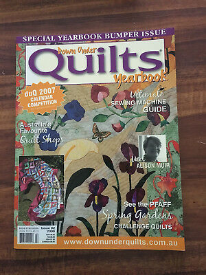 Down Under Quilts Yearbook Issue 92 2006