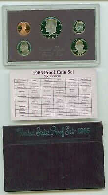 1986 USA PROOF SET  Mint IN CASE