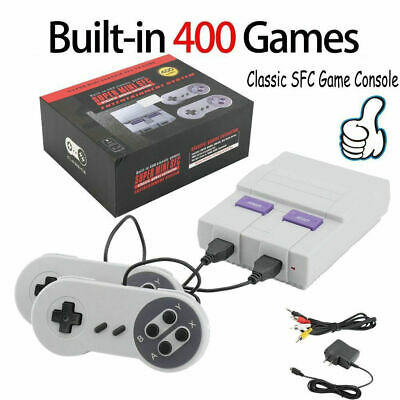 HDMI Super MIN Classic Edition Console Mini SFC Retro Built-in 400 Games US