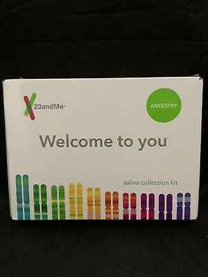 23andMe DNA Test ANCESTRY Personal Genetic Service Lab EXP 5/2021