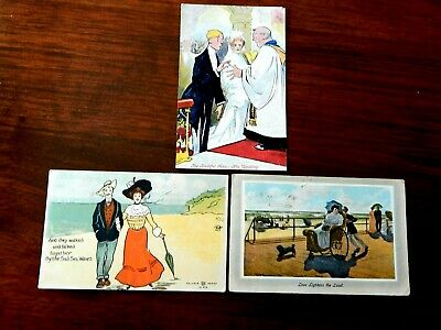 """1909. """"Comical Postcards of the 1900's""""  1909,.  . Rare find. """"L@@K""""."""