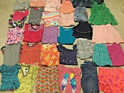LOT OF GIRLS CLOTHES SIZE 7 8 *ALL SEASON* Mini Boden, Hanna Andersson & more