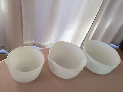 FREE POST and INSURANCE SMALL, MEDIUM and LARGE SUNBEAM MIXMASTER BOWLS.