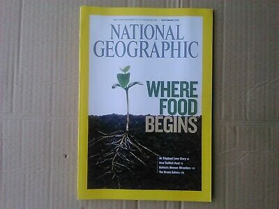 National Geographic - September 2008 - Where Food Begins