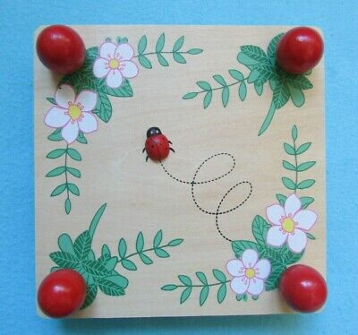 Fab Traditional Wooden Flower Press With Ladybird Detail