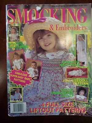 Australian Smocking & Embroidery Magazine Issue 26 Spring 1993