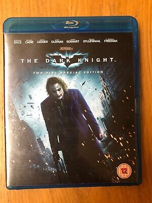 The Dark Knight (Blu-ray, 2013) - Two Bluray Disc Special Edition