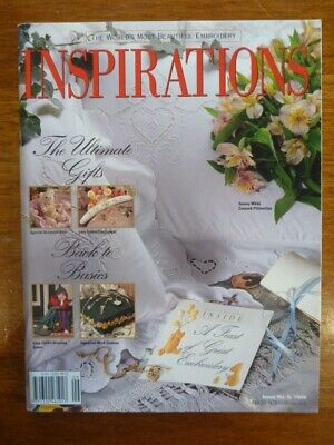Inspirations Embroidery Magazine Issue 9 - 1995  - Country Bumpkin