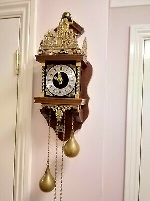 Vintage Dutch Wall Clock