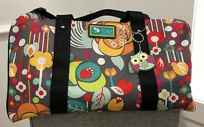 Lily Bloom Maya Tote Bliss Flowers Travel Diaper Commuter ECO Bag NWT
