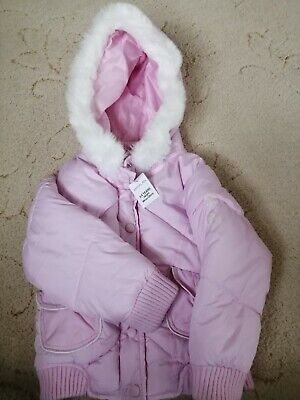 New girls pink matalan coat age 3-4 with tag