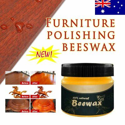 AU Wood Seasoning Beewax Complete Furniture Solution Care Polish Beeswax Paste