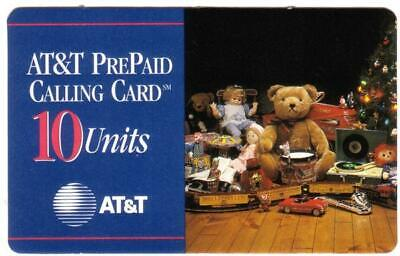 1994 AT&T PrePaid Holiday Special Edition (Set of 4) Phone Card