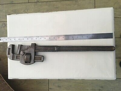 """Vintage Record 24"""" Stillsons Pipe Wrench Vice Grips"""