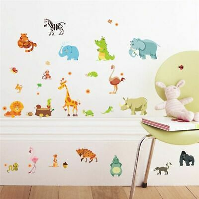 Arttop Baby Nursery Unicorn Wall Decal Rainbow Wall Stickers Star Wall Decal Nursery Wall Decor