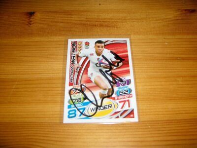 2015 Rugby Attax   #41. Anthony Watson   ( England )  signiert
