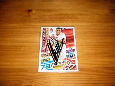 2015 Rugby Attax   #39. Luther Burrell   ( England )  signiert
