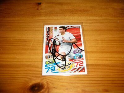 2015 Rugby Attax   #36. Ben Youngs   ( England )     signiert