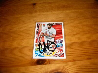 2015 Rugby Attax    #32. Geoff Parling   ( England )     signiert