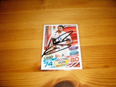 2015 Rugby Attax    #31. Courtney Lawes   ( England )     signiert