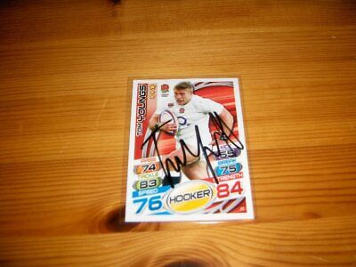 2015 Rugby Attax    #29. Tom Youngs   ( England )     signiert