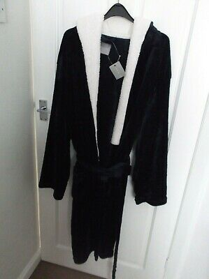 Men's New Look Dressing Gown Size L Bnwt