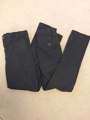 Next Boys School Trousers X2 Aged 10 Years