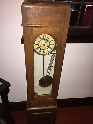 Antique grandmother clock - Sold As Seen- Collect Harrow HA3
