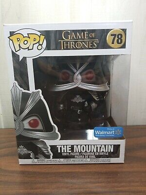 "*New* FUNKO POP! GAME OF THRONES 6"" THE MOUNTAIN #78 MASKED WALMART EXCLUSIVE"