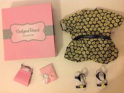 Design A Friend Yellow Daisy Outfit for Chad Valley Designafriend Dolls