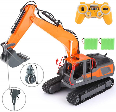 Kids RC Toy Volvo Excavator EC460B With Remote Control And Lights 1:32 scale