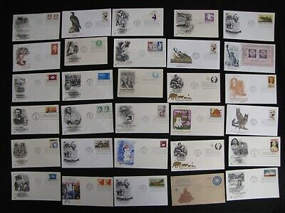 Over 500 Mostly Different First Day Covers Free Us Ship Fdc Stamp Collection Lot