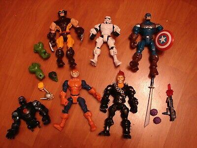 Marvel/DC Comics Super Heroes Mashers bundle