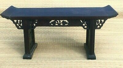 Vintage RARE Magnificant !!  Miniature Asian Altar Table (see others new)