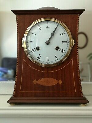 Antique Arts & Crafts Edwardian Mantle clock C1905 in the style of C.F.A. Voysey