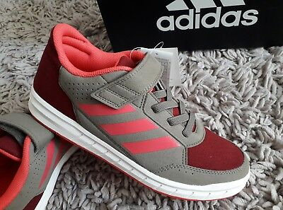 Adidas Alta Sport El K Trainers Running Shoes Size Uk 5.5 New Fitness Gym Bnib