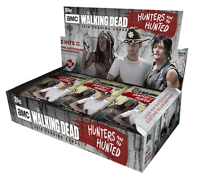 The Walking Dead Hunters And The Hunted Trading Cards Sealed Box